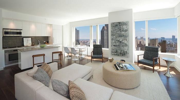 Aalto57 residences livingroom